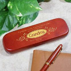 Personalized Grandma Rosewood Pen Set