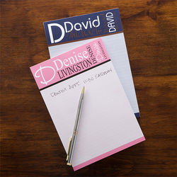 Personally Yours Personalized Notepad