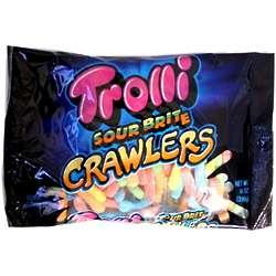 Trolli Sour Brite Crawlers Gummi Candies