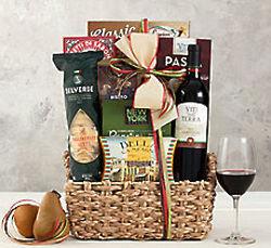 Viti Della Terra Sangiovese Red Wine Gift Basket