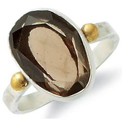 Solista Smoky Topaz Ring