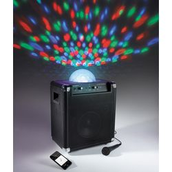Instant Party Speaker with Lights