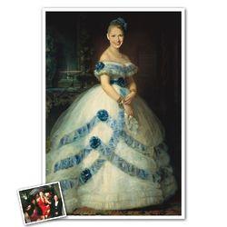 Duchess of Spain Custom Caricature from Photo Print