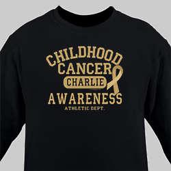 Childhood Cancer Awareness Athletic Dept. Long Sleeve Shirt