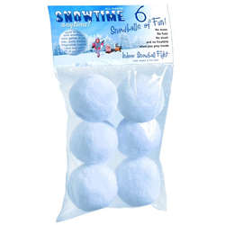 Indoor Snowball Fight Toys