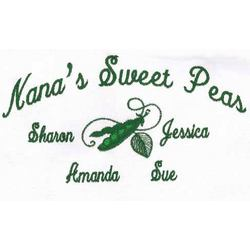Sweet Peas Personalized T- Shirt with Kids Names