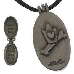 Love Your Dog Locket Necklace