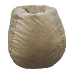 Faux Suede Bean Bag Chair