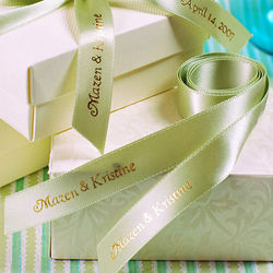 Personalized Double Face Favor Ribbons