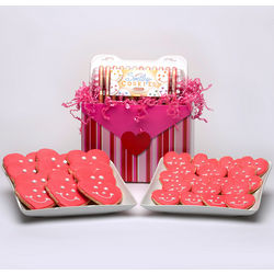 Valentine's Day Sugar Cookies Gift Basket