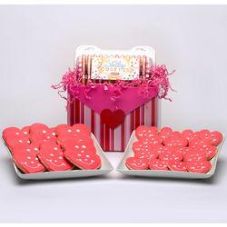 Valentine's Day Sugar Cookies Gift Basket
