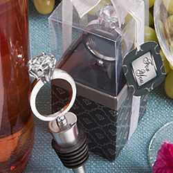 Diamond Ring Wine Bottle Stopper