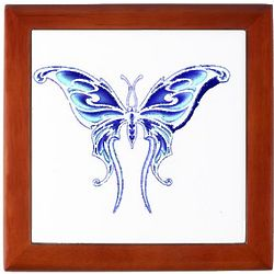 Brightest Blue Butterfly Memory Box