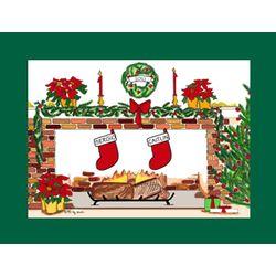 Personalized Christmas Stockings Cartoon