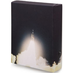 Titan III C Rocket Illuminated Art