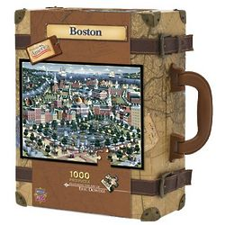 Boston 1,000 Piece Suitcase Puzzle