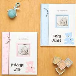 Sweet Baby Personalized Record Book