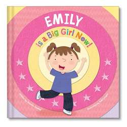 Personalized I'm a Big Girl Now! Book