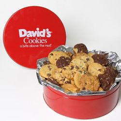 Fresh Baked David's Mini Bite Cookies Gift Tin