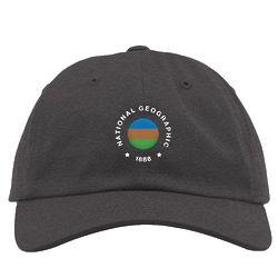 National Geographic Vintage Flag 1888 Charcoal Hat