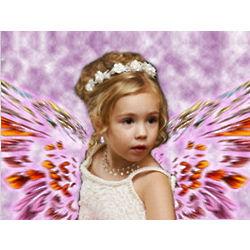 Angel Wings Custom Photo Artwork