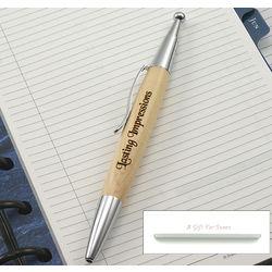 Maple Executive Click-Top Ballpoint Pen