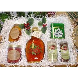 Seasons Greetings Honey and Maple Syrup Box