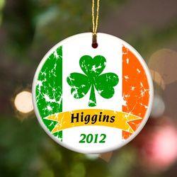 Personalized Irish Ornaments