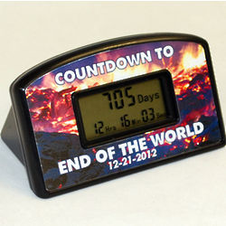 End of the World Countdown Clock