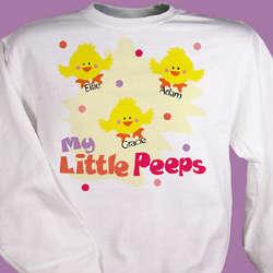 Little Peeps Easter Sweatshirt