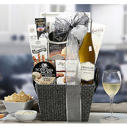 Sterling Vintner's Collection Chardonnay Gift Basket