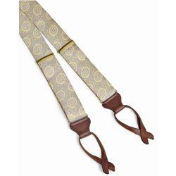 Medallion Silk Suspenders