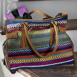 Blanket Fringe Bag