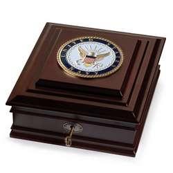 United States Navy Medallion Desktop Box