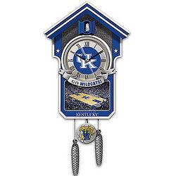 University of Kentucky Wildcats Basketball Cuckoo Clock