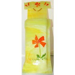 Fused Glass Pocket Vase