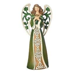 Irish Angel Resin Figurine