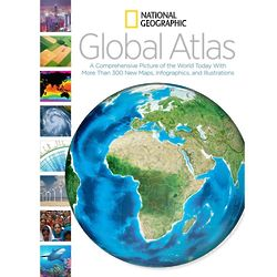 National Geographic Global Atlas Book