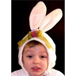 Personalized Bunny Baby Hat