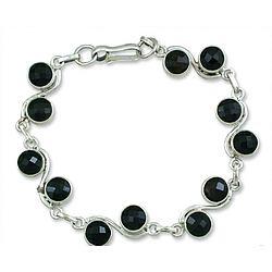 'Inspiration' Onyx Bracelet