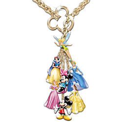 Ultimate Disney Classic 7 Charm Necklace