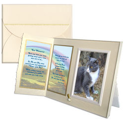 """God Whispered"" Pet Memorial Frame"