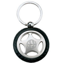 Personalized Tire Key Chain