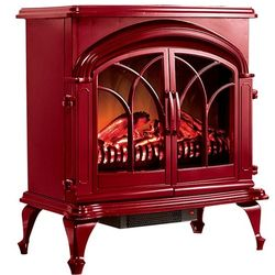 Large Electric Faux Fireplace Heater