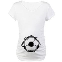 Soccer Baby Maternity T-Shirt