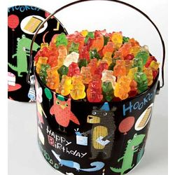 Birthday Animal Gummi Bears Tin
