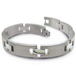 Titanium Solid Link Bracelet
