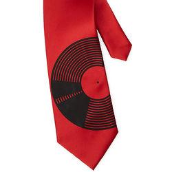 Vinyl Record Tie