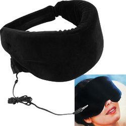 Memory Foam Heat Sensitive Sleep Mask with Music Input