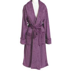 Double Minky Purple Robe